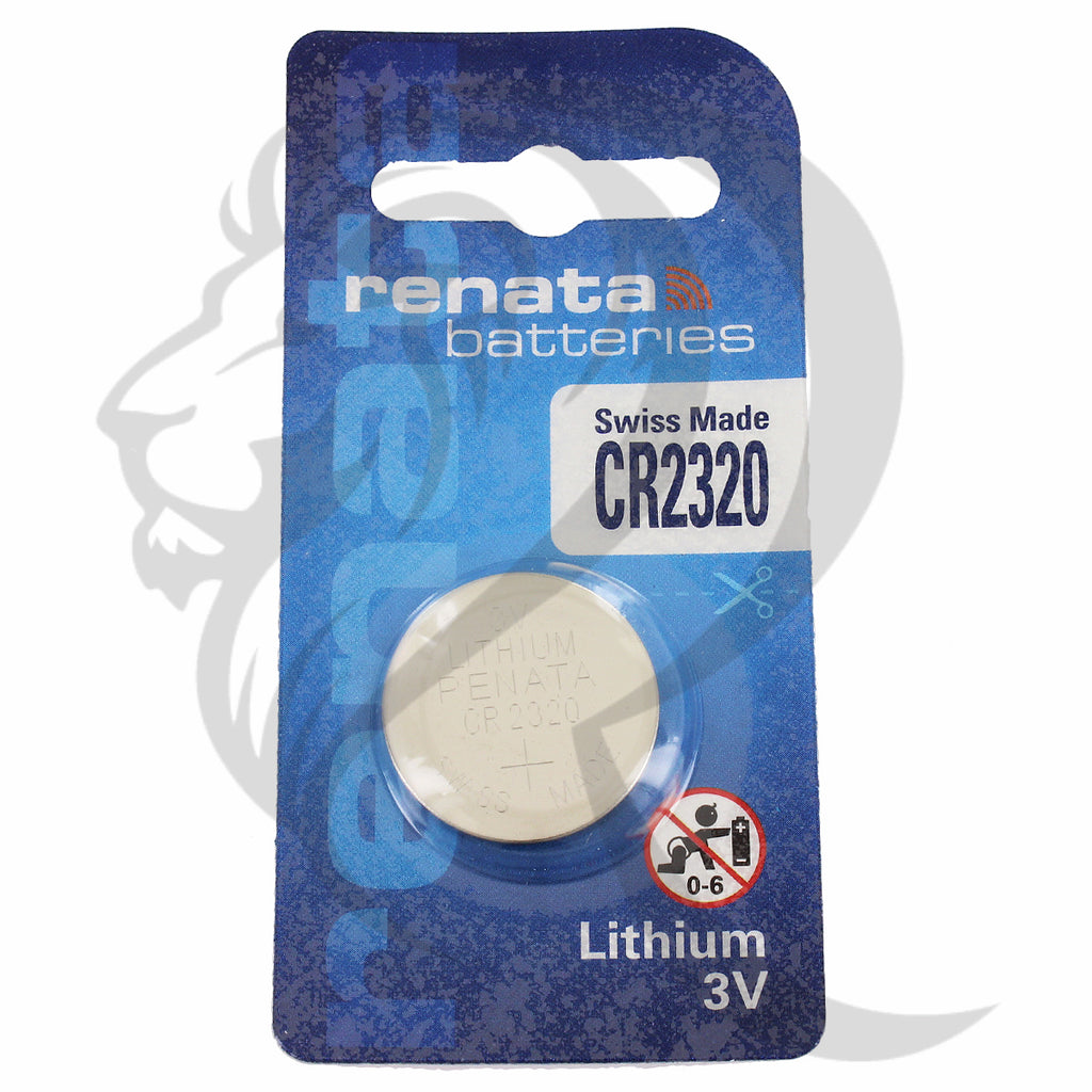 Renata CR2320 Swiss Made 1PK Battery