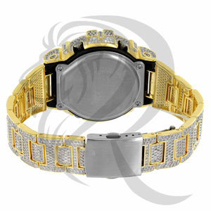 Clear Simulated Diamonds IcedOut DW6900 G-Shock Watch