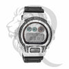 Black & White IcedOut Bezel Plate DW6900 Custom G-Shock Watch
