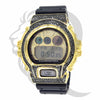 Canary Black Simulated Diamonds DW6900 Custom G-Shock Watch