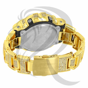 Simulated Diamonds Fully IcedOut DW6900 G-Shock Watch