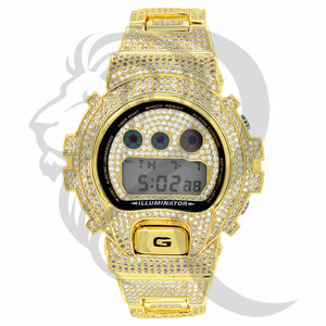 DW6900, G-Shock, G Shock Watch, icedout watch, custom watch, wholesale jewelry, wholesale jeweler, hiphop jewelry, hiphop, fashion, mens watch,