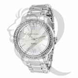 Plain White 38MM Gino Milano Watch