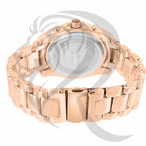 39MM Rose Gold Tone Gino Milano Watch