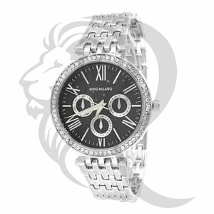 Black & White Dial Watch