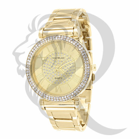 Yellow Gold 38MM IcedOut Watch
