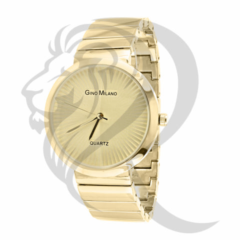 Plain 38mm Yellow Gold Gino Milano Watch