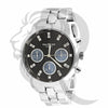 42MM Black Blue Dial White Watch