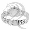 Plain White Gold Tone IcedOut 36MM Watch