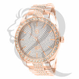 Rose Gold IcedOut 45MM Men's Watch