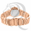 Rose Tone 39MM Small Face Ladies IcedOut Watch