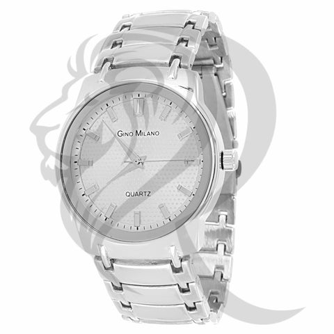 41MM All White Gino Milano Watch