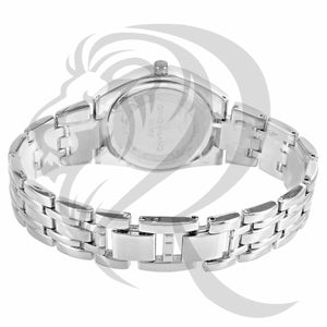 34MM White Gold IcedOut Watch