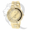 45MM IcedOut Yellow Techno Pave Watch