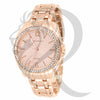 Rose Gold IcedOut Bezel 36MM Watch