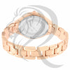 Plain Rose Gold Metal Watch