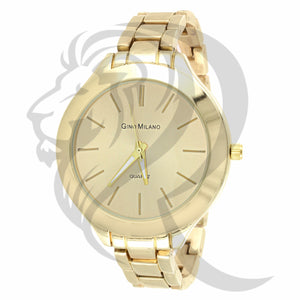 41MM Yellow Gold Plain Watch