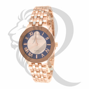Plain Rose Gold 34MM Milano Watch