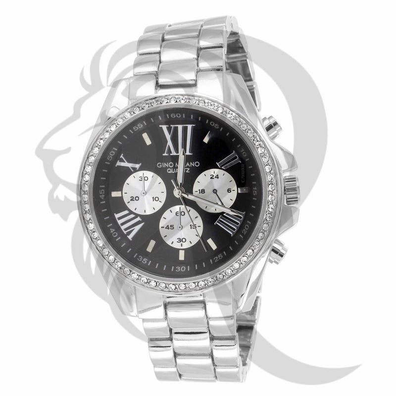 41MM Black & White Dial Milano Watch