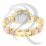 36MM Gold Pink Gino Milano Watch