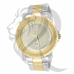 Plain Two Tone Illusion Dial 48MM Men's Watch