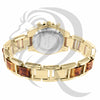 36MM Yellow Gold Gino Milano Watch