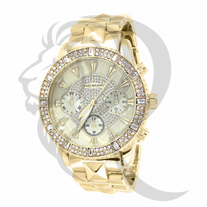 41MM Icedout Face Gino Milano Watch