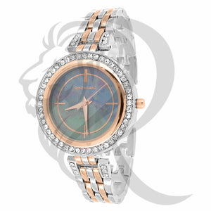 Two-Tone 34MM Colored Dial Milano Watch