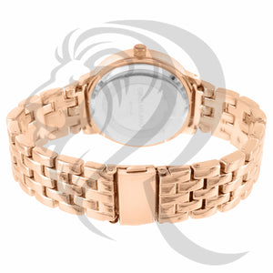 Rose Gold IcedOut Face 38MM Watch