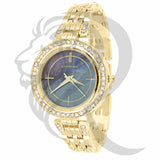 Yellow Gold Colored Dial 34MM Milano Watch