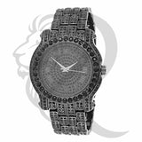 44MM Roman Dial All Black Tone Watch