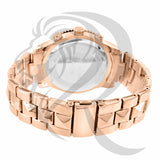 41MM Rose Tone Gino Milano Watch