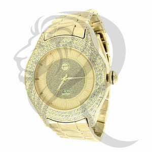 49MM Illusion Dial IcedOut Face Watch