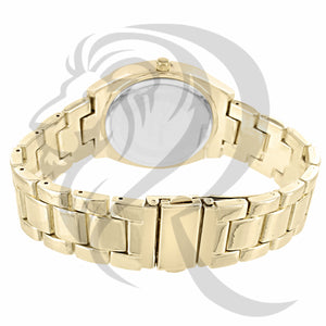 38MM Gino Milano Iced Out Watch