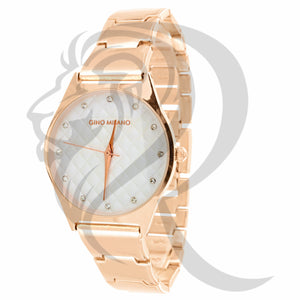 Plain Rose Gold Tone 32MM Watch