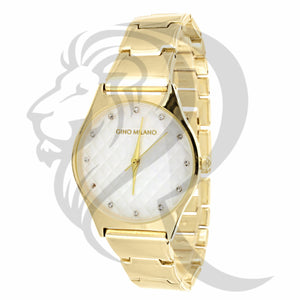 32MM Yellow Gino Milano Watch