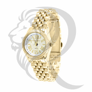 25MM Plain Yellow Gino Milano Watch