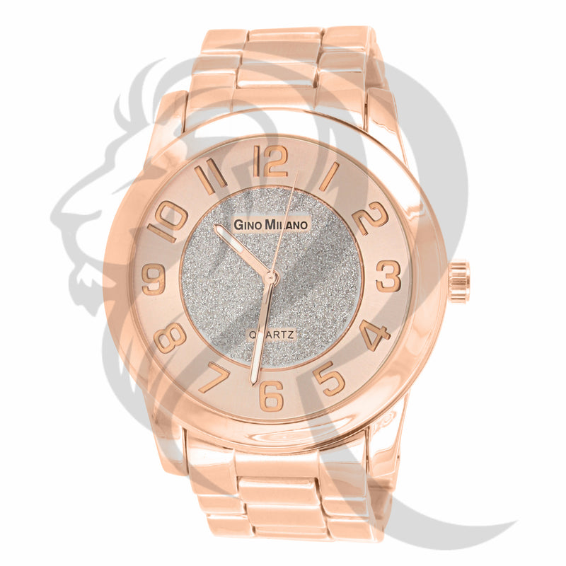 White Illusion Dial 45MM Rose Gold Watch