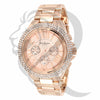 Rose Gold Tone 43MM Gino Milano Watch