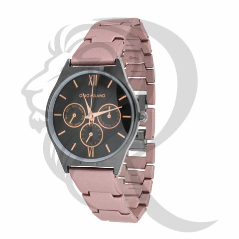 Black & Rose Gold Plain 32MM Watch