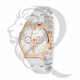 Rose Dial White Band 32MM Watch