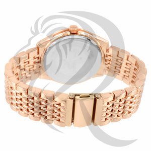 Rose Gold Gino Milano Watch