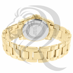 White Dial Yellow Gold Body 38MM Watch