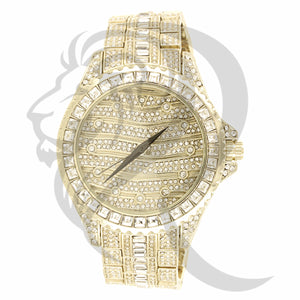 Baguette Style IcedOut 47MM Men's Watch