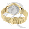 42MM White IcedOut Dial Yellow Band Watch