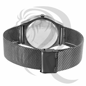 Black Tone Color Dial 40MM Mesh Band Watch
