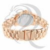 39MM Rose Gold White Dial Watch
