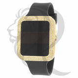 39MM IcedOut Bezel Apple Style Watch