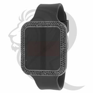 Black 39MM Bezel Touch Screen Watch