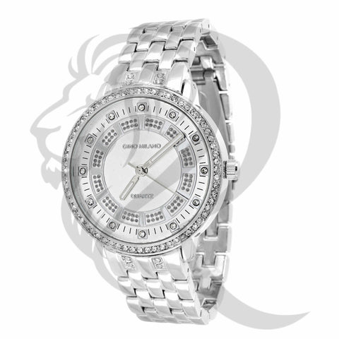 38MM Icedout Face Gino Milano Watch